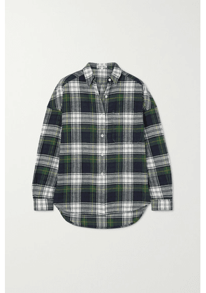 Alex Mill - Checked Cotton-flannel Shirt - Green