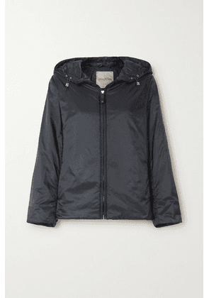 Max Mara - The Cube Hooded Padded Shell Jacket - Navy