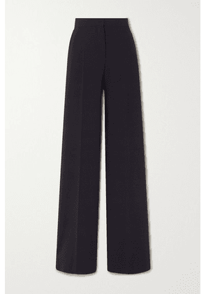 Max Mara - Afoso Stretch-wool Wide-leg Pants - Navy