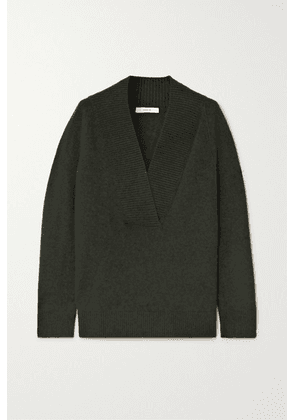 Vince - Ribbed Wool And Cashmere-blend Sweater - Green