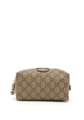 Gucci - Ophidia Gg Supreme Canvas Make-up Bag - Womens - Grey Multi