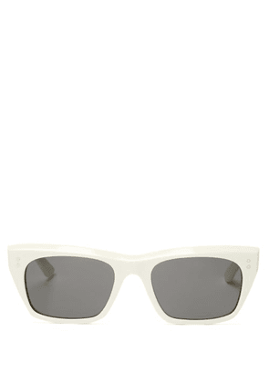 Celine Eyewear - D-frame Acetate Sunglasses - Womens - White