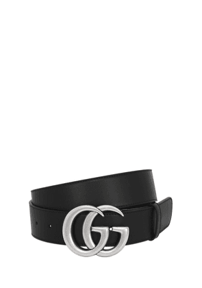 40mm Gg Buckle Smooth Leather Belt