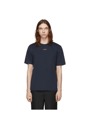 Band of Outsiders Navy Outsider T-Shirt