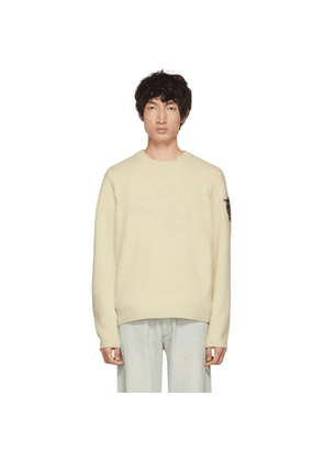 Gucci Off-White Panther Head Crewneck Sweater