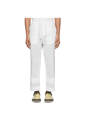 Craig Green White Ghost Trousers