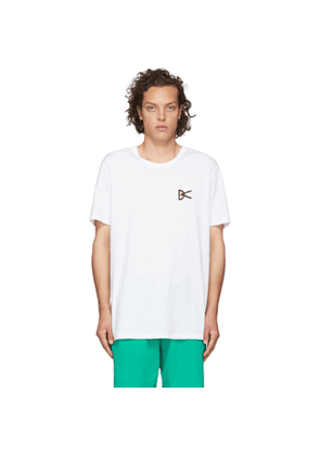District Vision White Reigning Champ Edition Retreat T-Shirt