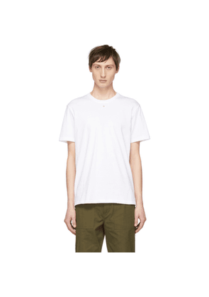 Craig Green White Embroidered Hole T-Shirt