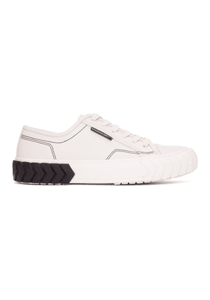 both Off-White Tyres Low Sneakers