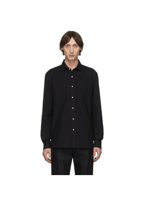 Eidos Black Classic Button-Down Shirt
