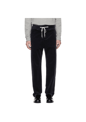 Band of Outsiders Navy Vintage Corduroy Trousers
