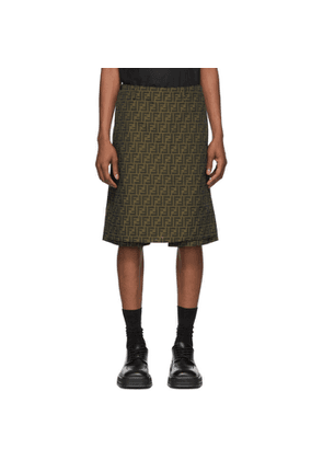 Fendi Brown Forever Fendi Shorts