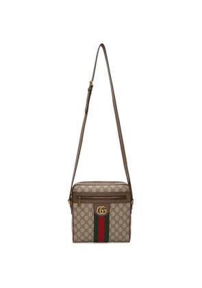 Gucci Beige GG Supreme Small Ophidia Messenger Bag