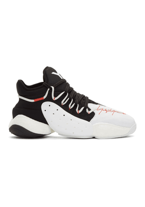 Y-3 Black and White BYW B-Ball Sneakers