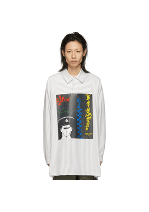 JW Anderson Off-White Gilbert and George Edition Printed Tunic Shirt