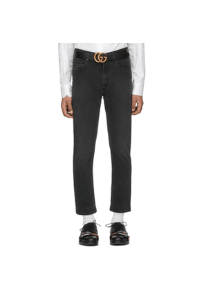 Gucci Black 60s Fit Jeans