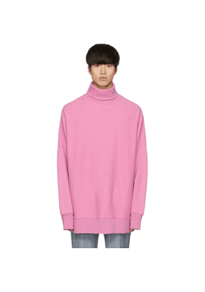 Calvin Klein 205W39NYC Purple Oversized Turtleneck