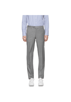 Brioni Grey Formal Trousers