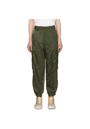 Enfants Riches Deprimes Green Logo Cargo Pants