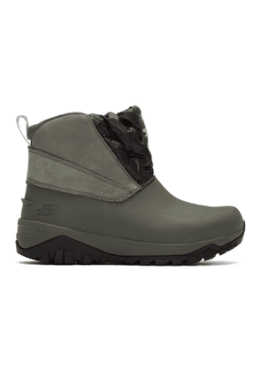 The North Face Grey Yukiona Boots