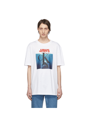 Calvin Klein 205W39NYC White Jaws T-Shirt