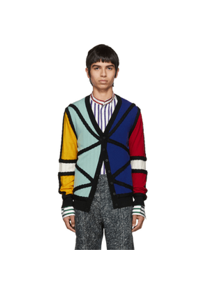 Charles Jeffrey Loverboy Multicolor Lord Of The Flies Cardigan