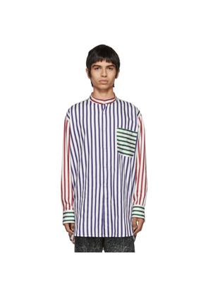 Charles Jeffrey Loverboy Multicolor Striped Colorblock Shirt
