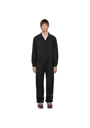 Engineered Garments Black Canvas Coverall Suit