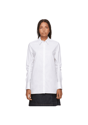 Carven White Vented Shirt