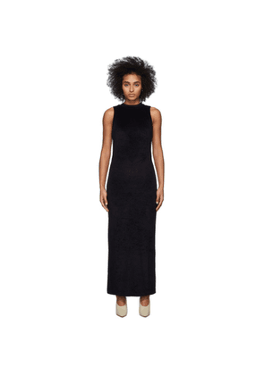 John Elliott Black Velvet Maxi Dress