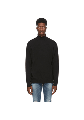 Nudie Jeans Black Cornelis Turtleneck