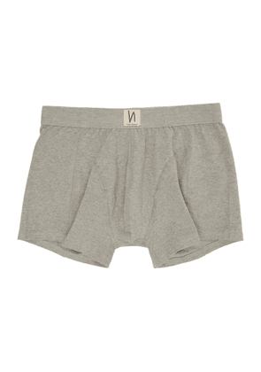Nudie Jeans Grey Solid Boxer Briefs