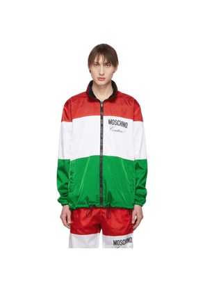 Moschino Reversible Multicolor Couture Jacket