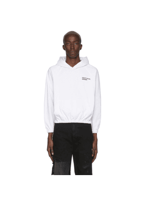Enfants Riches Deprimes White Small Logo Hoodie