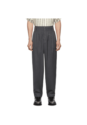 Enfants Riches Deprimes Grey Pleated Trousers