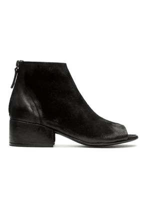 Marsell Black Cubetto Tronchetto Sandal Boots