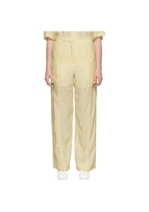 JW Anderson Beige Panelled Trousers