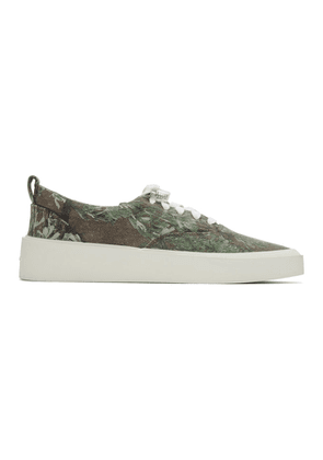 Fear of God Green 101 Lace Up Sneakers