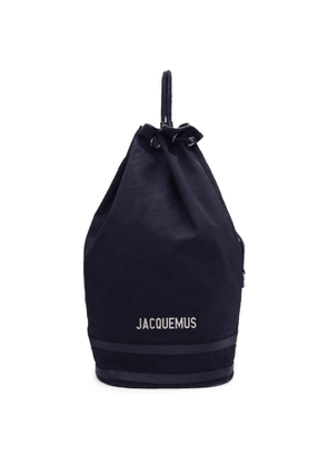Jacquemus Navy Le Polochon Backpack