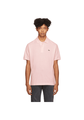 Lacoste Pink Classic Polo