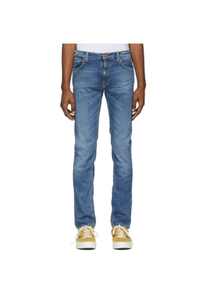 Nudie Jeans Blue Thinn Finn Jeans