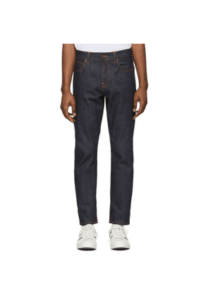 Nudie Jeans Blue Steady Eddy II Jeans
