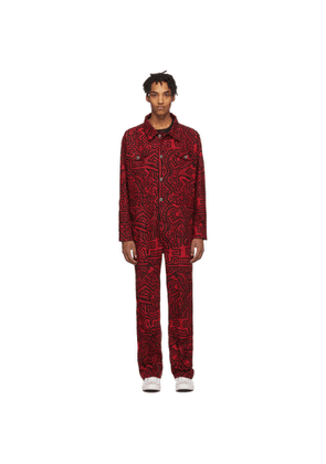 Etudes Red Keith Haring Edition Canyon Jumpsuit
