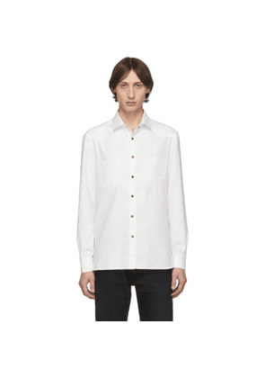 Eidos White Washed Western Shirt