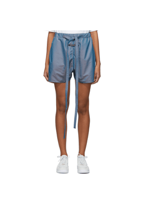 Fear of God Blue Iridescent Military Physical Training Short
