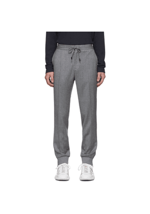 Z Zegna Grey Merino Wash and Go Trousers