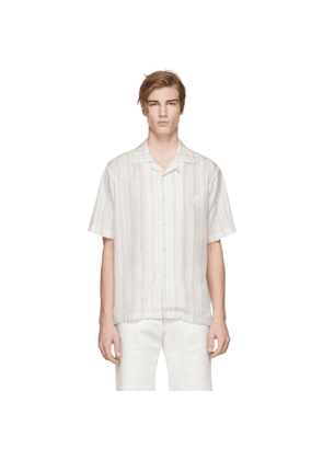 Band of Outsiders White Boardies Edition Psychedelic Shirt
