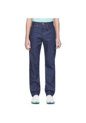 Band of Outsiders Navy Denim Regular Fit Jeans