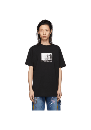 Marcelo Burlon County of Milan Black Close Encounters of the Third Kind Edition Aliens T-Shirt