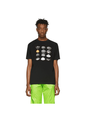 Marcelo Burlon County of Milan Black Close Encounters Of The Third Kind Edition Spaceships T-Shirt